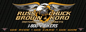 If you need a top biker attorney call 1-800-4BIKERS