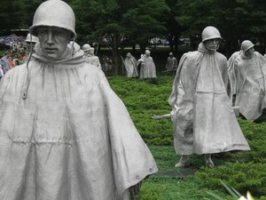 Korean War Memorial Washington DC