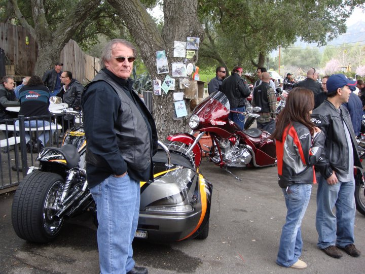 Motorcycle Lawyer at Rock Store