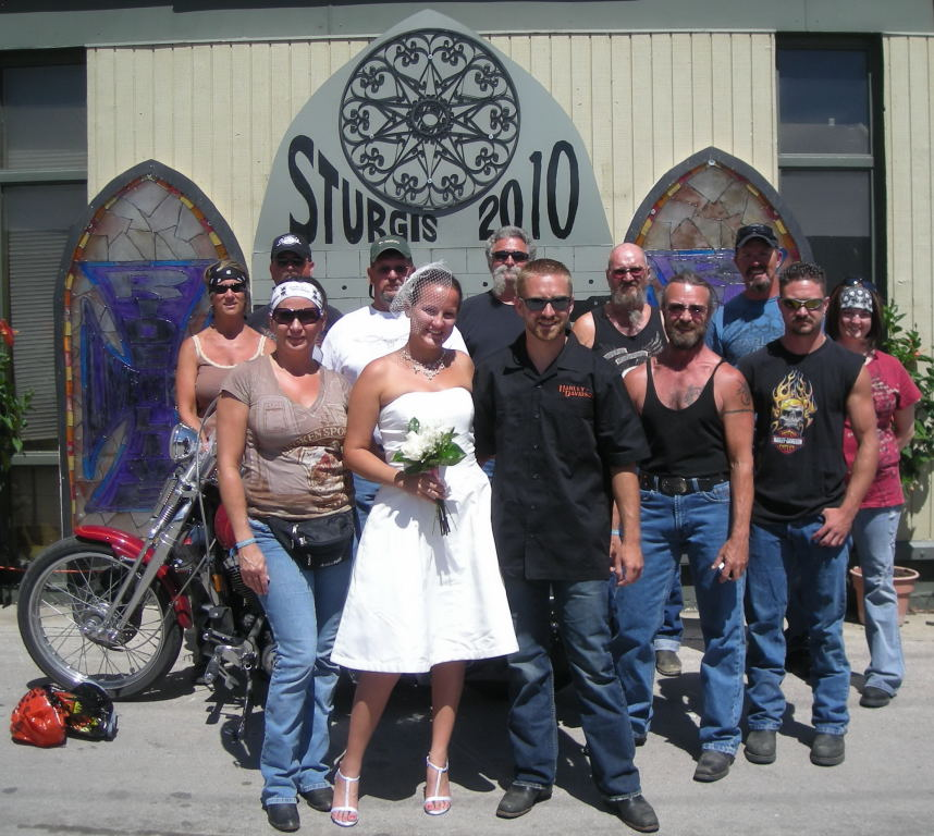 Tying The Knot At Sturgis: True Love And The Love Of Motorcycles