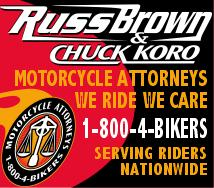 California Motorcycle Injury Lawyers