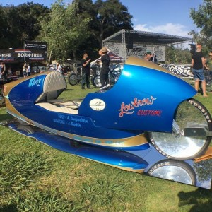 lowbrowcustoms salt flat racer at bornfreeshow from streetchopper! speedtrials motorcycleshellip