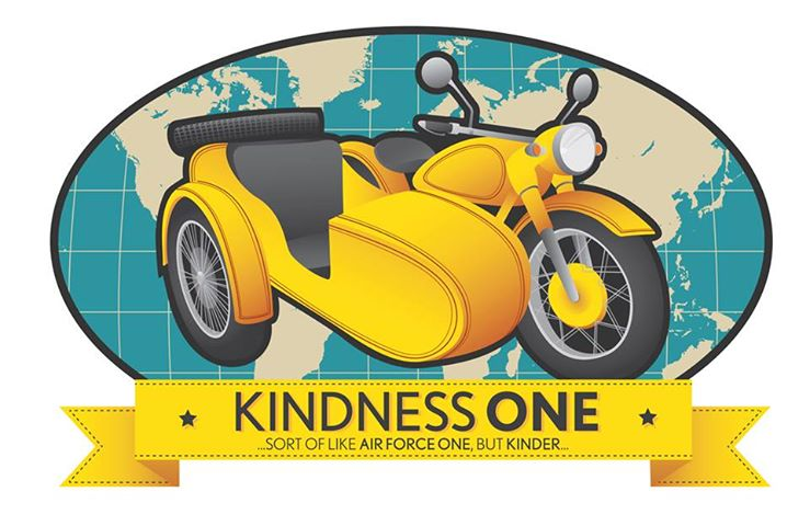riding around the world on kindness
