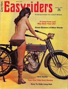 1974 issue of Easyriders magazine