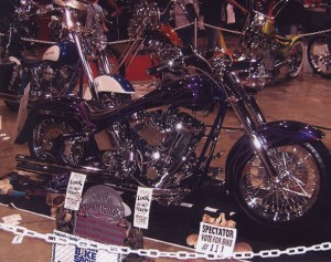 Custom Harley chopper design By Mike Toupin of Chopper Design Group in La Habra California