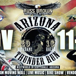 The azthunderrun in Scottsdale is coming up quick! The veteranshellip