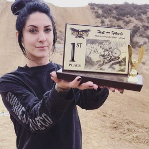 Congrats to bad ass babe sarahfury of the ironlilies forhellip