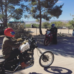 Girls rollin out for a ride through JoshuaTree at thehellip