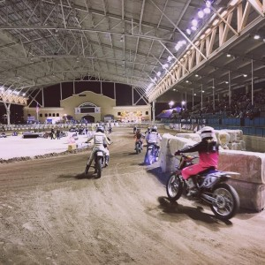 Lady racers rollin onto Del Mar at IVleagueflattrack this weekend!hellip