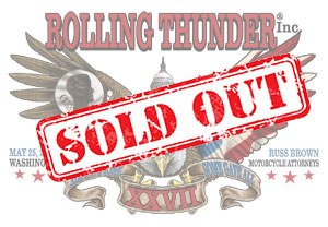 2014 Rolling Thunder Sticker SOLD OUT