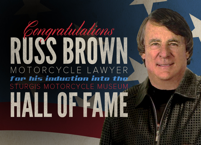 FREE Russ Brown Motorcycle and...