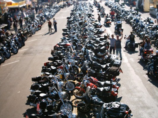 Keeping the peace at sturgis