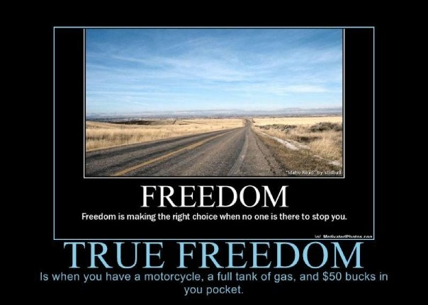 The Biker Lifestyle Means Freedom Your Way!