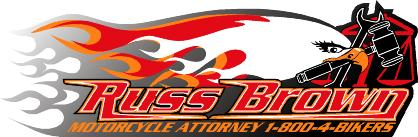 Motorcycle lawywer Russ Brown