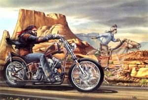 Easyriders Artist Dave Mann