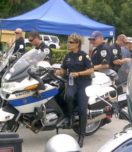 Upgrading Florida Pavement With Police Officer Michelle Angeloff