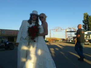 Tying The Knot At the Sturgis 2012 Buffalo Chip
