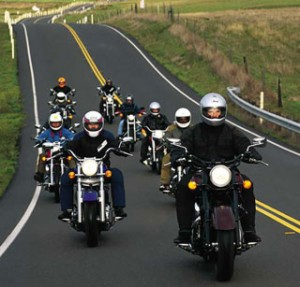 Safety In Numbers On Long Distance Motorcycle Runs