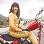 women motorcyclist brenda fox