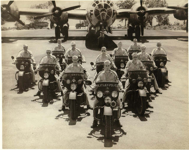 Harley Davidson produced large numbers of motorcycles for the US Army in World War II