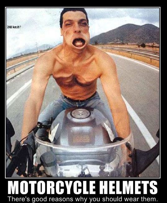 Motorcycle Safety: Helmets Save Lives