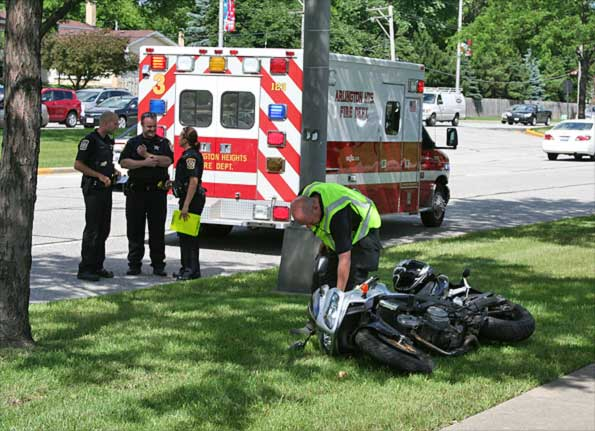 The Anatomy of a Motorcycle Accident