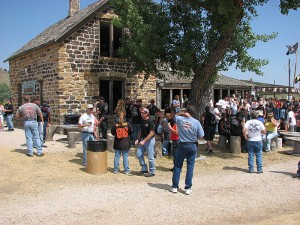 check out the Old Stone House Saloon just out side of Belle Fourche, SD.