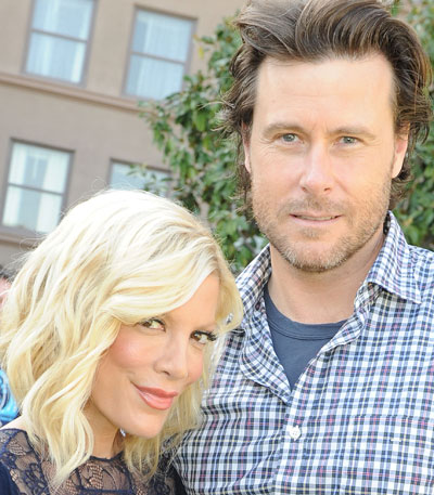 Tori Spelling's husband, Dean McDermott will be making the ride along with Chris, his wife Jennifer, supporters and anyone who wants to roll with them.