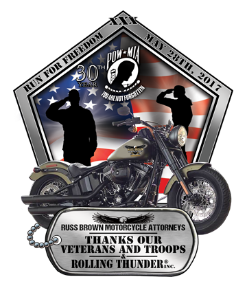 2017 rolling thunder sticker