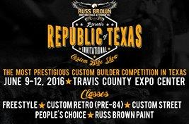 Russ Brown Motorcyle Attorneys Presents Custom Bike Contest at ROT Rally