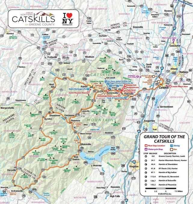 Grand tour catskills