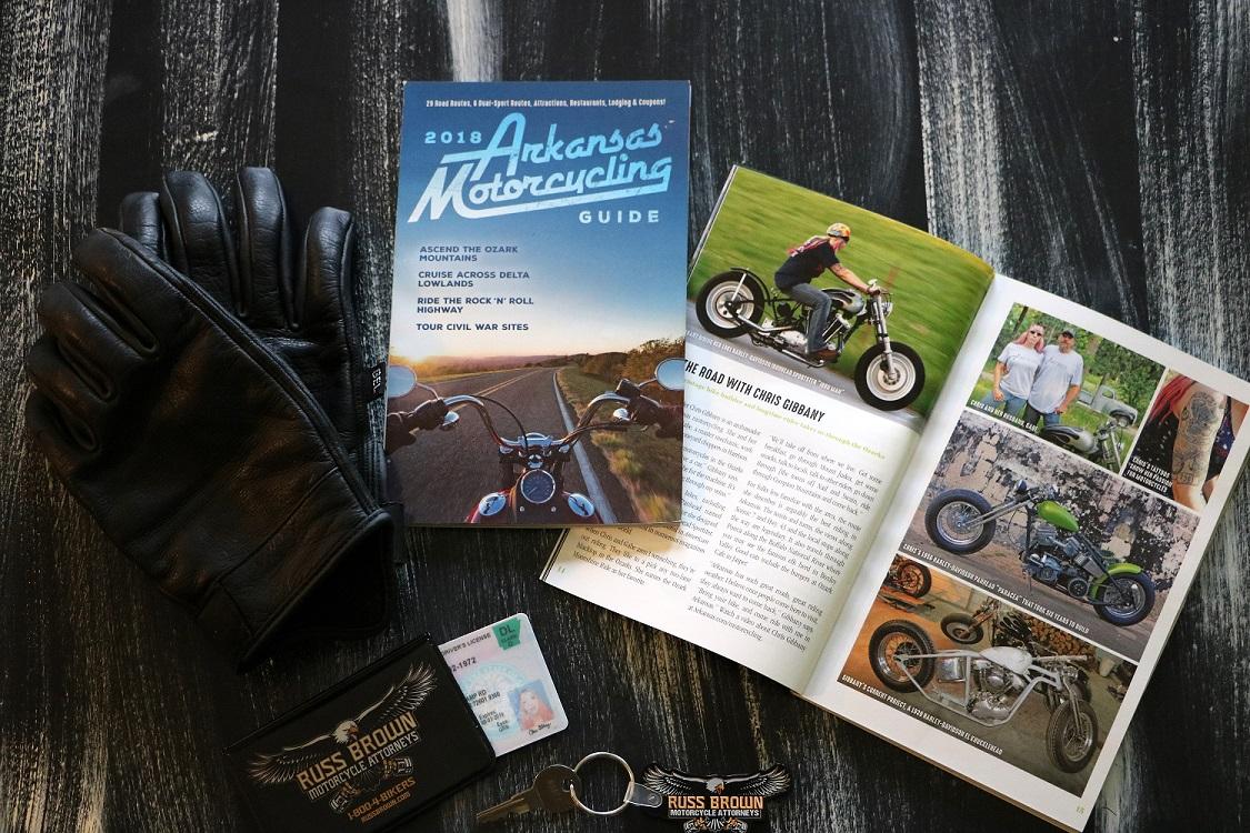 2018 Arkansas Motorcycling Guide